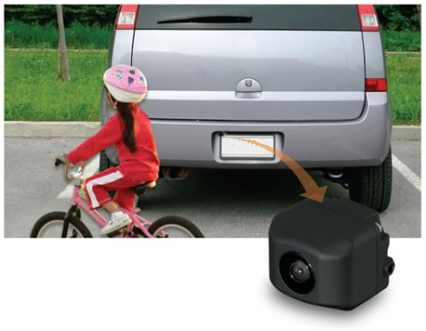 A kisgyerekek sincsenek veszélyben ha van tolatókamera beszerelve!
