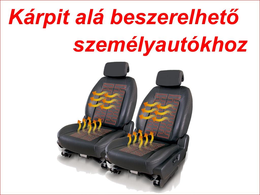 Ülés kárpit alá beszerelhető gyári minőségű ülésfűtések
