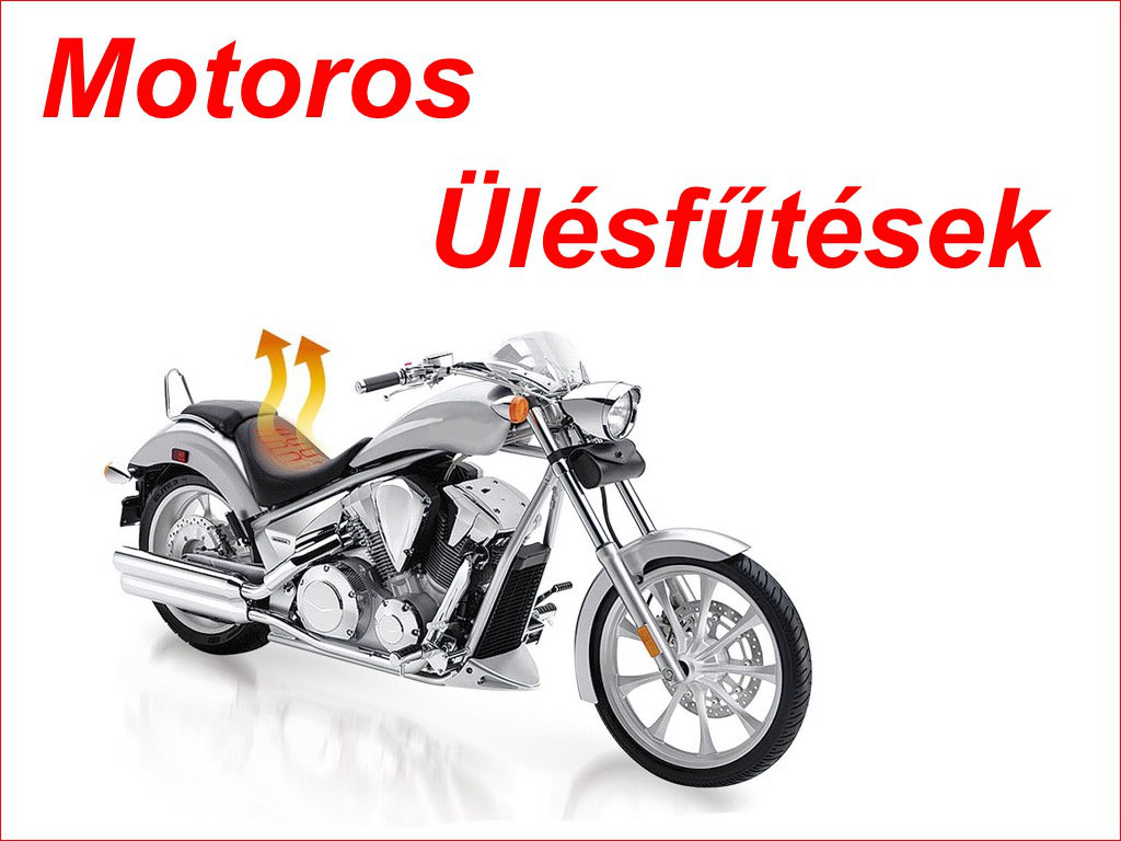 Motorkerékpár ülésfűtések